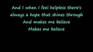 Celine Dion-A World To Believe In With Lyrics