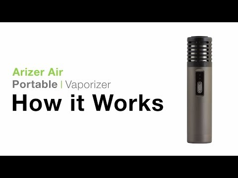 Arizer Air Vaporizer Tutorial