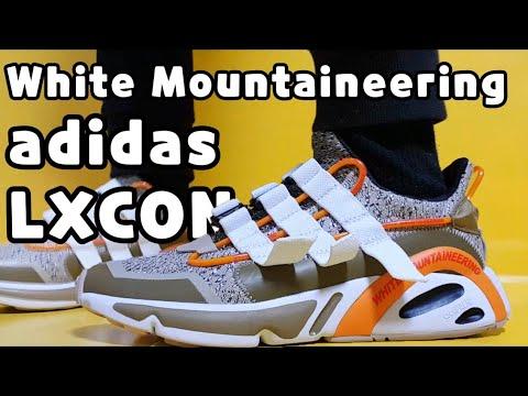 WHITE MOUNTAINEERING X ADIDAS LXCON Unboxing/adidas X WM On Feet Review