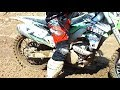 Kawasaki KX250F Muddy Track Session