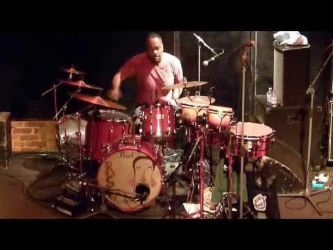YONRICO SCOTT - DRUM SOLO - Charlie Wooton - Bass The Royal Southern Brotherhood Southampton, UK