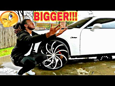 IM SO CONFUSED ON WHICH RIMS I SHOULD GO WITH ON MY CHALLENGER!