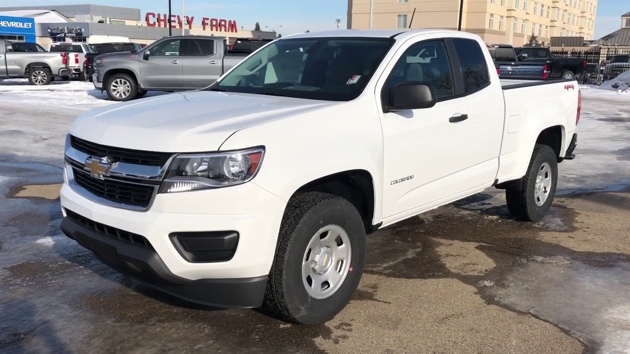 2020 Chevrolet Colorado Work Truck Review Youtube