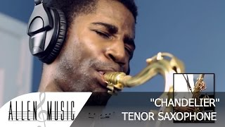 Sia - Chandelier - Tenor Sax Cover - Allen Music