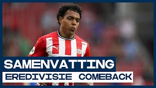Malen maakt langverwachte rentree bij PSV! 🔙 | Samenvatting PSV - Vitesse | De Comeback