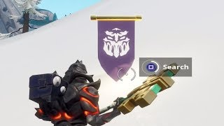 WEEK 8 SEASON 8 SECRET BANNER LOCATION - Fortnite Find the Secret Banner in Loading Screen 8