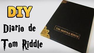 DIY: COMO FAZER o DIÁRIO DE TOM RIDDLE (Harry Potter Tutorial) |  #diyhp #diycaderno