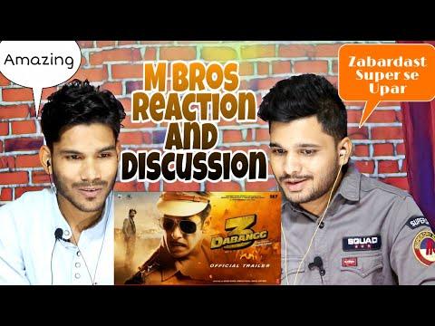 Dabangg 3: Official Trailer Reaction And Discussion | Salman Khan | Sonakshi Sinha | Prabhu Deva