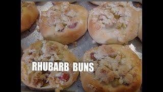Rhubarb Buns - Drozdzowki z Rabarbarem Episode #43