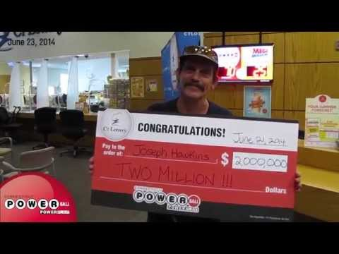 Connecticut's $2,000,000 Powerball Prize Winner!