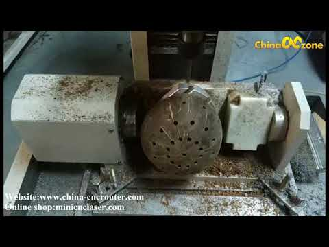 steel 5 axis milling machine for coconut shell lampshade diy engraving