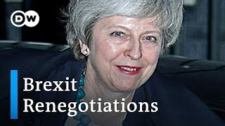 Theresa May makes Berlin bid to save Brexit divorce deal   DW News