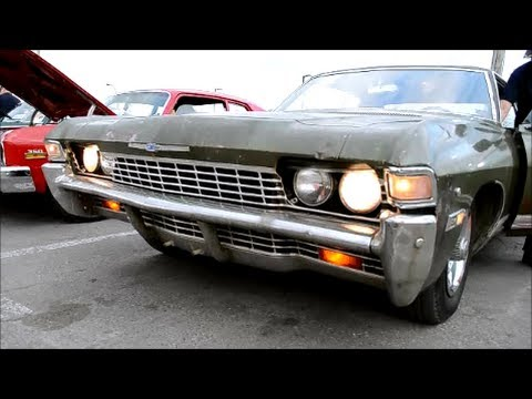 Rare 1968 Chevy Caprice Coupe 307 Start Up Youtube