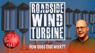 A vertical axis wind turbine without the wind! How do they do that?