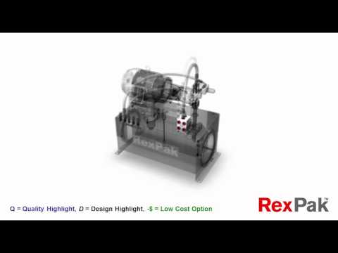 GoPak™ Hydraulic Power Unit by Bosch Rexroth