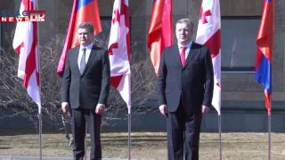 Slaq am Հայաստանի և Վրաստանի վարչապետերը հանդես են եկել ԶԼՄ ներկայացուցիչների համար հայտարարությամբ