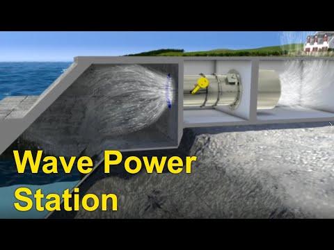 Ocean Energy -  Wave Power Station