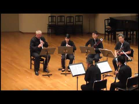 Serenade in C Minor K388, Kusatsu Academy