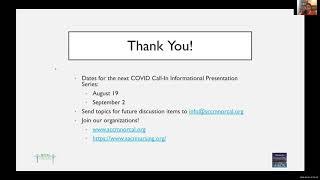 COVID Call In No1 QandA