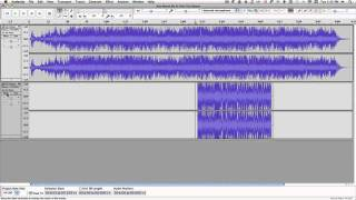 Audacity tutorial--combining 2 songs into one thumbnail