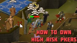 How to Mess With High Risk PKers on OSRS