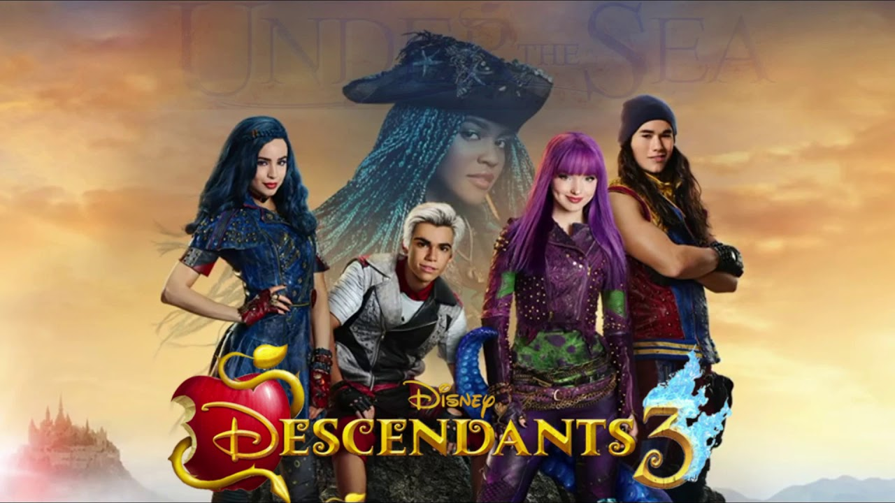 Kiss The Girl Under The Sea Descendants  Audio Only