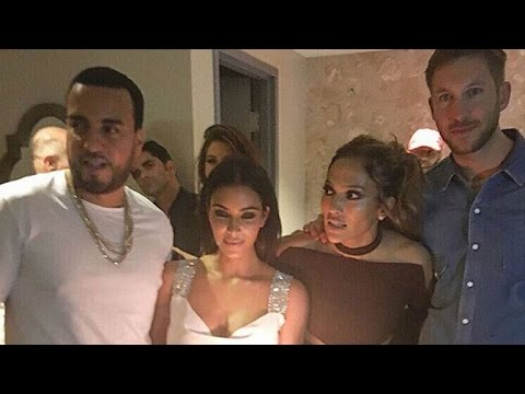 Jennifer Lopez 47th Birthday: Kim Kardashian And Calvin Harris Party Together At Star-Studded Bash