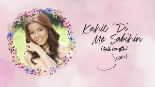 Juris - Kahit 'Di Mo Sabihin (Full Length) (Audio) 🎵   Forevermore