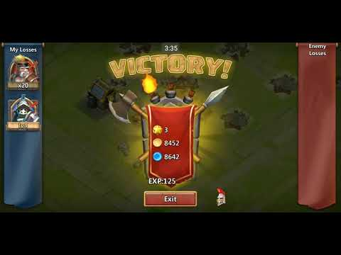 Castle Clash: Brave Squads (2013) - Gameplay