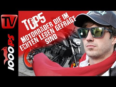 Top 5 - Motorräder die im echten Leben gefragt sind