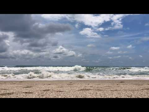 Oceanside Beach Video in Costa Rica - 40 Minutes of Relaxing Wave Sounds
