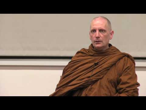 Talk by Venerable Ajahn Sona at Stanford University