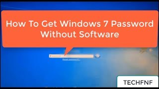 How To Reset administrator password of Windows 7/8/10 without any software?