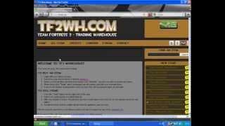 [TF2] Jak korzystac z Team Fortress 2 WareHouse?