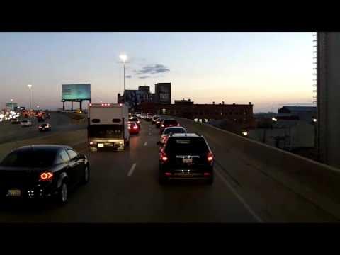 Evening Traffic in Chicago
