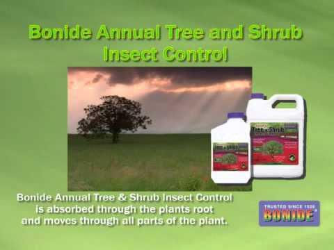 Bonide Annual Tree Shrub Insect Control Aubuchon Hardware Youtube
