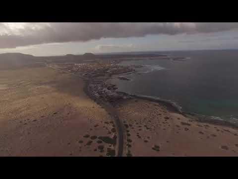 DJI Phantom 3 Landsailing Fuerteventura Feb/2016