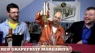 Red Grapefruit Margarita, How-to