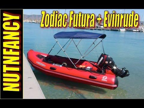 Zodiac Futura boat + Evinrude ETEC 30hp: [Mini Review]