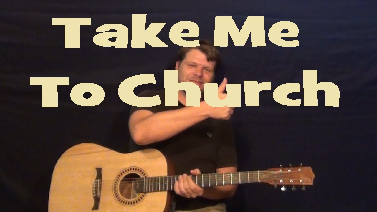 Take me to church hozier easy guitar lesson how to play tutorial