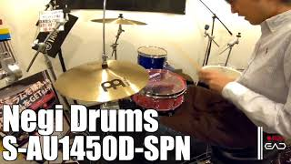 【Ikebe channel】Negi Drums Acrylic 6mm Snare【#DS渋谷試奏動画】