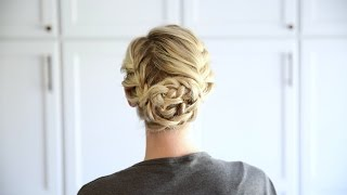 Double French Updo | Cute Girls Hairstyles