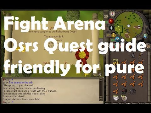 Fight arena osrs quest guide