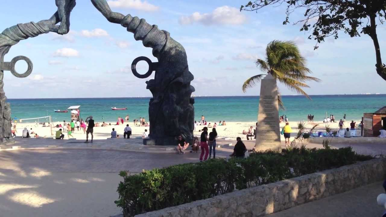 Playa Del Carmen Beach Mexico