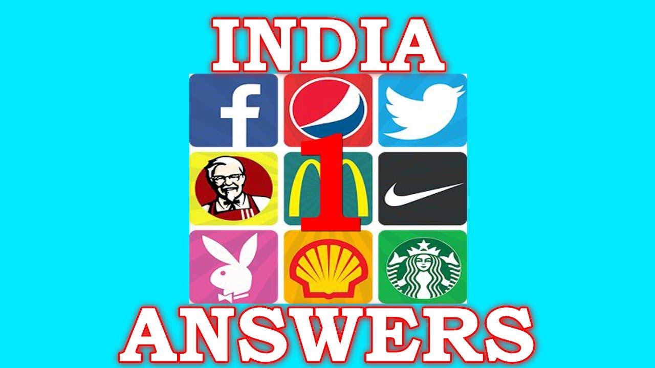 Logo Quiz World India Level 1 All Answers Walkthrough Youtube
