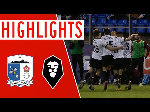 Barrow Salford Goals And Highlights