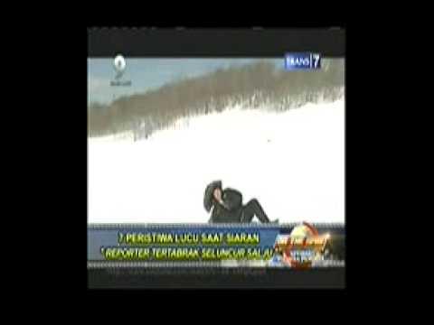 Reporter TV Ditabrak Orang