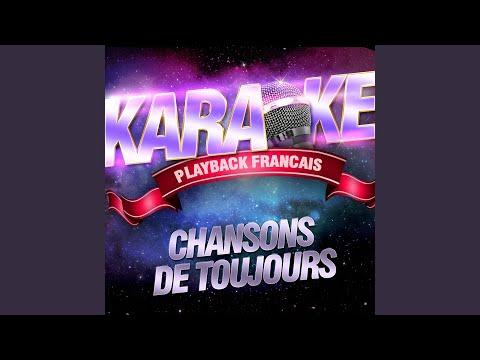 Prendre Un Enfant Par La Main — Karaoké Playback Instrumental — Rendu Célèbre Par Yves...