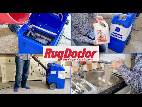 Rug Doctor Mighty Pro X3 Carpet Washer Demonstration & Review