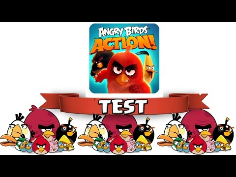 ANGRY BIRDS ACTION! || Neuer Spieletest || Let